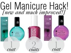 Perfect(er) DIY Gel Manicure Hack!  These products are incredible if you have oily nails like me!