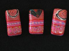 Polymer Clay Focal Beads by jessmade4u | Flickr - Photo Sharing!