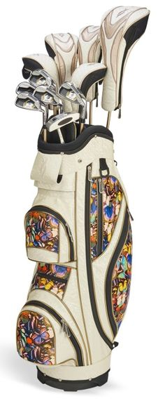 Cream Butterfly Nancy Lopez Ashley Golf Club Package. Find all the best golf essentials at #lorisgolfshoppe