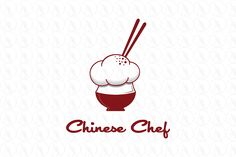 Chinese Chef - $325 (negotiable) http://www.stronglogos.com/product/chinese-chef #logo #design #sale #food #restaurant #Chinese #blog #cook