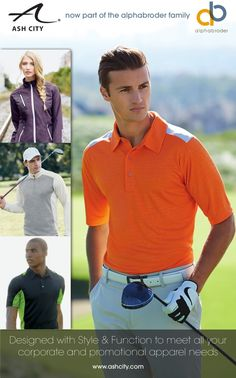 - Apparel | Golf Wear Golf Wear, Promotion, Branding, Polo, Mens Tops, How To Wear, Style, Fashion, Swag