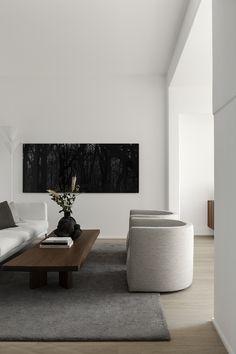 Home Decor Living Room .Home Decor Living Room Interior Design Minimalist, Modern Interior Design, Interior Architecture, Stone Interior, Modern Decor, Natural Modern Interior, Minimal House Design, Contemporary Decor, Modern Luxury
