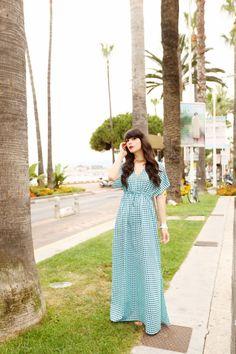 Maxi dress - cherry blossom girl