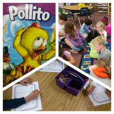 We are having fun reading Pollito with Barbara Andrews from Benchmark Education. -Rosie Santiago #CIS_APS #Literacy
