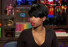 Make Way for EGOT: Jennifer Hudson Discusses Her Broadway Ambitions Short Black Hairstyles, Short Hair Cuts, Cool Hairstyles, Short Hair Styles, Perm Hairstyles, Jennifer Hudson, Hair Laid, Cute Cuts, My Hairstyle