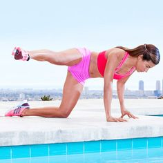 The Swinger #exercise works your butt and hips