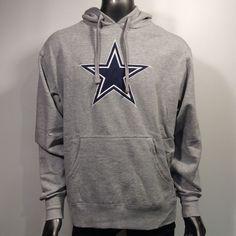 Small NFL Dallas Cowboys Mens Houston Fleece Vest Grey