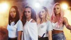 Little Mix uploaded by Claudia on We Heart It Jesy Nelson, Perrie Edwards, Little Mix Outfits, Little Mix Style, Dvb Dresden, Little Mix Salute, Mixed Guys, Litte Mix, X Factor