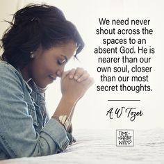 A.W. Tozer - #christianity #christian #bible #faith #jesuschrist #God #love #christianencouragement #truth #biblestudy #a.w.tozer