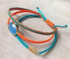 Makramee Armband - Eine Anleitung zum Nachknüpfen