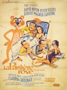 Posteritati: PINK PANTHER, THE 1964 French 47x63
