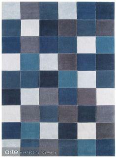 Dywan Eden Pixel Blue ED 11 | 1 www.arte.pl