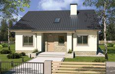 Guest House Plans, Dream House Plans, Single Storey House Plans, Best Tiny House, Wooden Pallet Furniture, Front Steps, Design Case, Little Houses, Home Fashion