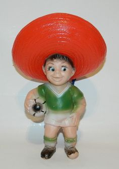 VINTAGE & RARE JUANITO MASCOT WORLD CUP MEXICO 70 BOOTLEG FIGURE 10'' TALL  | eBay