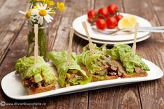 rulori-de-salata-cu-ton-si-legume Starters, Recipies, Brunch, Cooking Recipes, Mexican, Ethnic Recipes, Food, Inspirational, Recipes