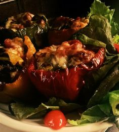 Lazy Morning, Salad, Stuffed Peppers, Homemade, Vegetables, Finland, Low Carb, Foods, Style