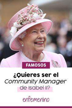 ¿Quieres un nuevo trabajo y de lo más royal? La reina Isabel II ofrece un trabajo de Community Manager por 2.800 euros.