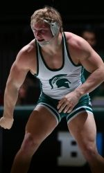 After more than a month away from Jenison Field House, the Michigan State wrestling team returns home to face No. 2 Minnesota Friday at 7 p.m. The match is being streamed live on the Big Ten Digital Network and is available for purchase at msuspartans.com.