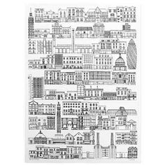 Sahar Ghanbari - Cityscape London Illustration