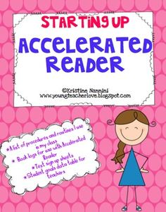 Starting Up and Organizing Accelerated Reader Printables *