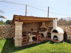 Barbecue Patio Ideas – With the weekend drawing to a close and summer just on the way, getting a barbecue station running might be an idea on the top of your mind. ideas closed √ 27 Best Barbecue Patio Ideas and Designs In 2019 - Trumtin Brick Grill, Patio Grill, Backyard Patio, Backyard Landscaping, Ideas De Barbacoa, Stone Bbq, Stone Fence, Stone Patio Designs, Patio Pictures