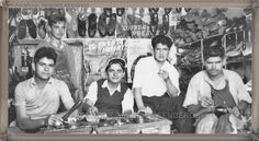 Zapatero estación de Tacoronte año 1959 #canariasantigua #blancoynegro…