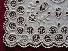 Hedebo embroidery - Love this!