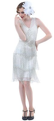 1920's Formal Dresses- Cocktail, Party and Evening Wear- would be an awesome dress for the gatsby party!