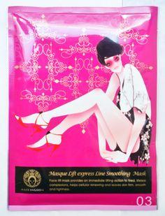 MasKingdom Metropolitan Series Masque Lift express Line Smoothing Mask Nourishes skin, keeps skin moisturized. Enables skin to keep fair, radiant and elastic. P