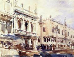 Watercolor John Singer Sargent