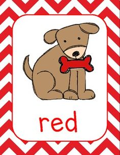 Dog Theme Color Posters $3.50