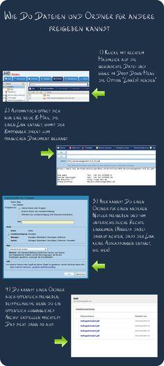 So gibst Du Deine Zimbra-Dateien und -Ordner für andere frei!