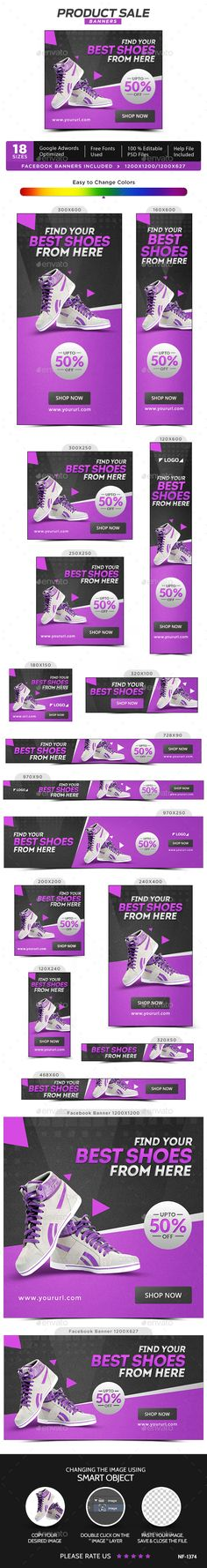 Product Sale Banners Template PSD. Download here: http://graphicriver.net/item/product-sale-banners/16709017?ref=ksioks