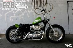 "Evo sportster swingarm custom | ""A78 Monster Patrol 