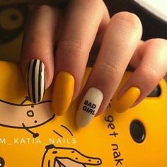 40 trendy stunning manicure ideas for short acrylic nails design 38 Stylish Nails, Trendy Nails, Swag Nails, My Nails, Nail Manicure, Nail Polish, Manicure Ideas, Fire Nails, Best Acrylic Nails