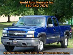Used-Car-Cleveland | 2003 Chevrolet Silverado 1500 LS | http://www.clevelandcarsforsale.com/dealership-car/2003-chevrolet-silverado-1500-ls