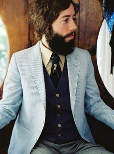 Suit. Noah Georgeson