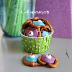 Monster's University Pretzel Snacks