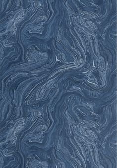 VENUS, Navy, T85073, Collection Greenwood from Thibaut