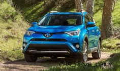 Refreshed 2016 Toyota RAV4 and New RAV4 Hybrid Make NY Debut