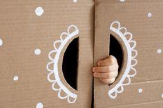 UKKONOOA: Pahvimaja / Cardboard box house