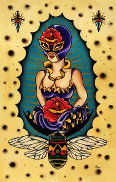 """Lucha Libre!"" Group Art Exhibition 