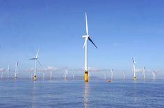 Siemens'ten dünyanın en büyük deniz üstü rüzgar santrali