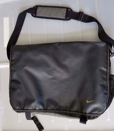 "Nike Messenger Bag Laptop Shoulder Travel Canvas Polyamide 16"" #Nike #MessengerShoulderBag"