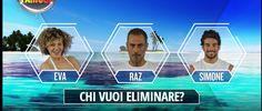 Isola dei Famosi 12: Raz Degan, Eva Grimaldi e Simone Susina in nomination