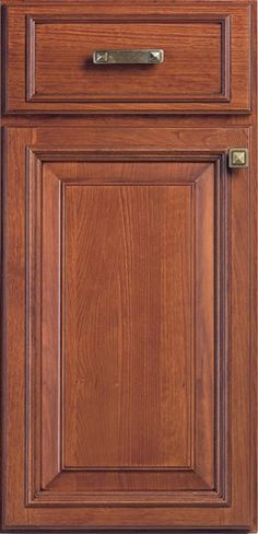 Door Styles: Cherry Newcastle - Visit Showroom in Columbus Ohio - Kitchen Kraft Inc, Kitchen Cabinets Remodeling. - Door Style : Newcastle  Door Type : Applied Molding  Finish : 350, Mocha  Drawer : Slab%20w%2F%20Newcastle%20Molding  Material : Cherry
