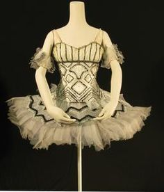 Tutu worn by Diana Vere and Gillian King as a Snowflake in The Royal Ballet production of 'The Nutcracker' (1968)