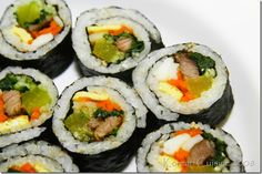 I absolutely loooove Sushi.  Sushi is fro me what chocolate is for you...and I crave for sometimes!