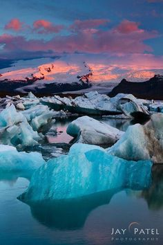 Colors of Jakulsarlon, Iceland - Photo by Jay Patel