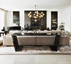 Kelly Hoppen Couture - Kelly Hoppen Interiors #moderndesign #interiordesign #livingroomdesign luxury homes, modern interior design, interior design inspiration . Visit www.memoir.pt